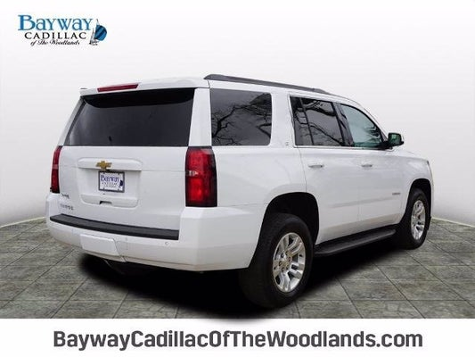 2020 Chevrolet Tahoe Lt In The Woodlands Tx Houston Chevrolet Tahoe Bayway Cadillac Of The Woodlands
